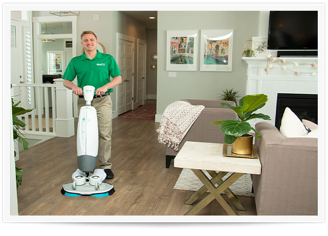 Wood floor cleaning in Bemidji