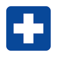 Medical sanitizing icon
